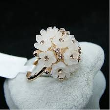 Seashell Bouquet Seashell Bouquet Of Flowers Rose Gold Ring