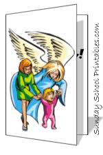 angel cards to print make christian cards birthday cards and more