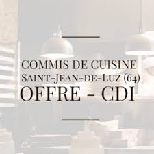 recherche commis de cuisine donibane recherche 2 commis de cuisine h f