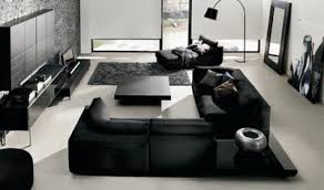 Modern Living Room Interior Design With Simple Color Blended - Simple modern living room design