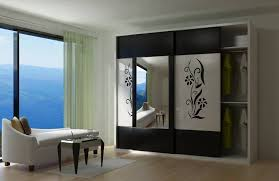 Wardrobe Bedroom Design Modern Wardrobe With Mirror Designs For Bedroom Www Redglobalmx Org