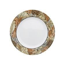 thanksgiving china sets amazon com corelle impressions 16 piece dinnerware set woodland