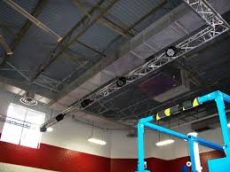 Truss Lighting Cincinnati Golden Gloves Boxing F33 Triangular Truss Lighting System