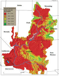 Map Of Colorado River by Case Study