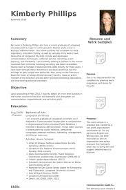 Resume Examples For Hospitality by Management Trainee Resume Samples Visualcv Resume Samples Database