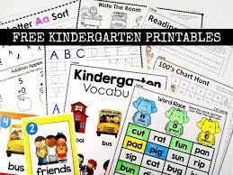 free kindergarten activities and worksheets simply kinder
