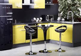 cuisine noir et jaune cuisine jaune et gris pas cher sur cuisine lareduc com