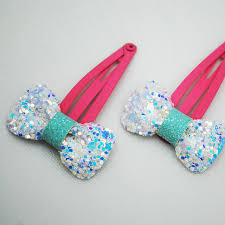 wholesale hairbows wholesale 2017 korean hair accessories sparkling blue white