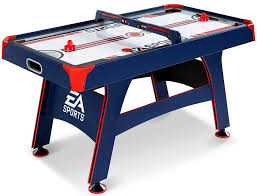 How To Clean Air Hockey Table Espn 60 Inch Air Powered Hockey Table With Overhead Electronic