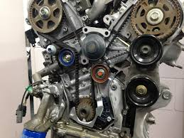 honda v6 engine oil leak around the timing belt area accurate