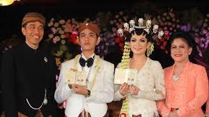 profil gibran jokowi putra sulung presiden jokowi resmi menikah