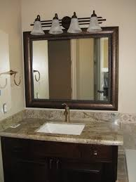 ideas astonishing framed bathroom mirrors large copper framed