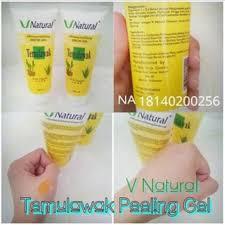 Serum Temulawak v peeling gel whitening exfoliating serum temulawak nuubuy