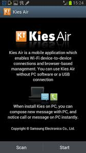 android kies how to use kies air to send media files from pc to your android phone