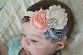 infant headbands newborn headband shabby chic headband infant headbands baby