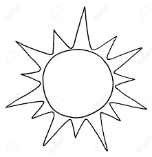 sun clip art black and white many interesting cliparts