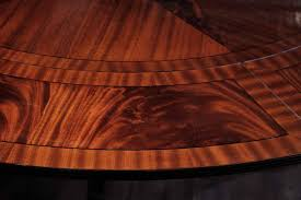 round dining table perimeter leaves round mahogany dining table with leaves antique reproduction