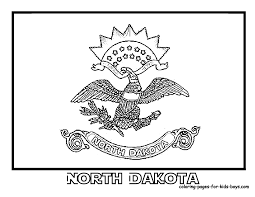 north dakota state flag homeschool m u0026m co op midwest state
