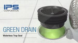 6 Floor Drain by Green Drain Waterless Trap Seal For Floor Drains Youtube