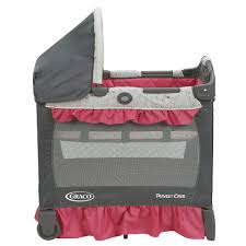 Bloom Alma Mini Crib by Graco Travel Lite Ultra Comfy Crib With Removable Bassinet Alma