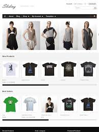 sliding wordpress online store theme to sell products