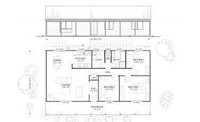 Design Kit Home Online Hunter 3 Met Kit Homes 3 Bedroom Steel Frame Kit Home Floor