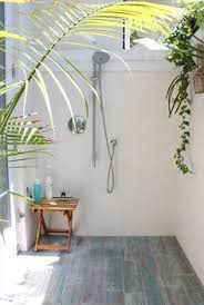 Outdoor Shower Room - farmhouse style two ways pretty lights farmhouse style and