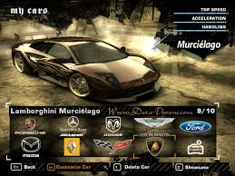 Lamborghini Murcielago Need For Speed - dota throne defance of the ancients need for speed most wanted