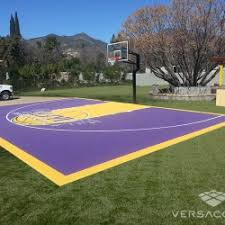 How Much Does A Backyard Basketball Court Cost How Much Does An Outdoor Basketball Court Cost Backyard Ideas