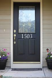 front door house house numbers front door custom wall stickers vinyl