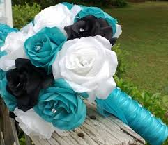 black roses for sale sale malibu blue black white wedding bouquet malibu blue