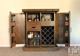 Folding Bar Cabinet Found Heirloom Teak Bar The Gathered Home