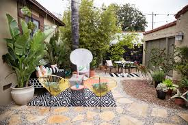 drought friendly yard ideas patio makeover with atg stores