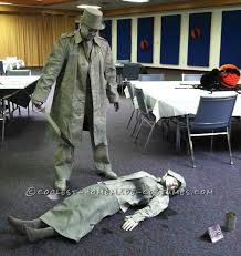 Halloween Statue Costume Homemade Living Statues Couple Costume Costumes Couples