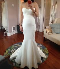 my wedding dresses seamstress advice and who ended up wearing a mermaid