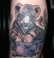 collection of 25 butterfly tiger tattoos designs