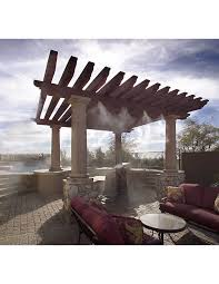 Patio Misters Patio Misting Systems Can Now Be Custom Designed Online