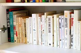 thoughts on taking the rainbow bookshelf plunge