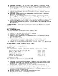Database Administrator Resume James A Ashmore Dba Resume
