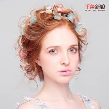 flower hair 2016 new blossom fairy living flower headdress