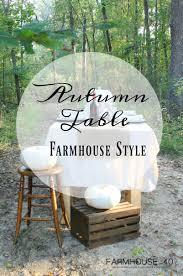 autumn tablescape farmhouse style farmhouse 40