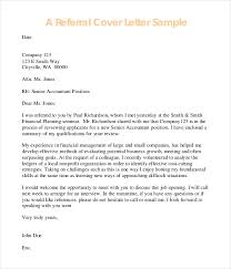 resume email referral cover letter job application government with