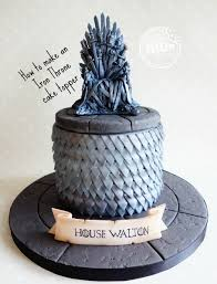 Chair Game Of Thrones How To Make A Game Of Thrones U0027 Iron Throne Cake Topper Let U0027s