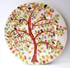 country crafts ceramic pottery painting ideas handpainted