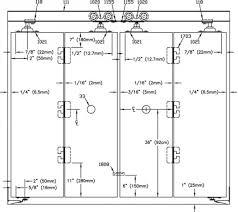 Bifold Closet Doors Hardware Hardware For Bifold Closet Doors Picture Of Closet Design Ideas