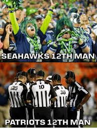 12th Man Meme - seahawks 12th man 10 125 30 patriots 12th man meme on me me