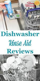 Rinse Dishwasher Dishwasher Rinse Agent Reviews Which Products Work Best
