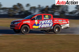 rallycross truck feature superutes from the building site to trackside auto action
