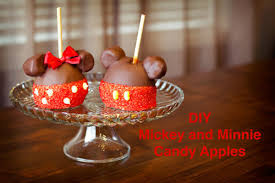 where can i buy candy apples diy mickey and minnie candy apples