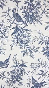 30 best blue white toile wallpaper images on pinterest toile